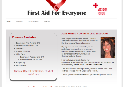 CPR FIRST AID FOR EVERYONE