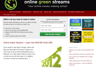 ONLINE GREEN STREAMS