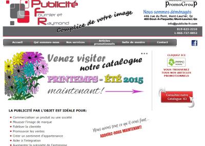 PUBLICITÉ FR